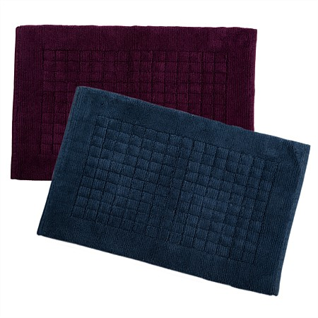 Home Co. Jethro Grid Bathmats