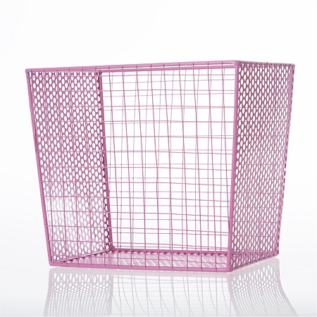 Niko & Co. Pink Storage Basket
