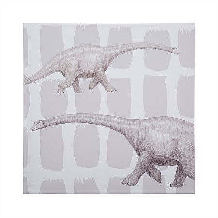 Niko & Co. Brachiosaurus Canvas Wall Art