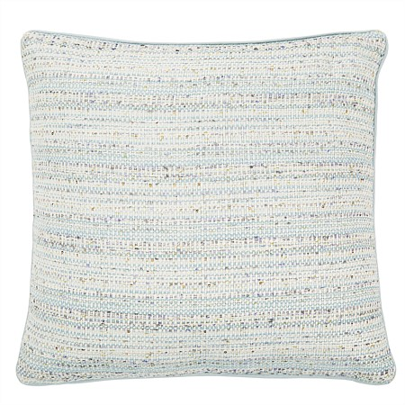 Andree Wool Blue Sequin Cushion