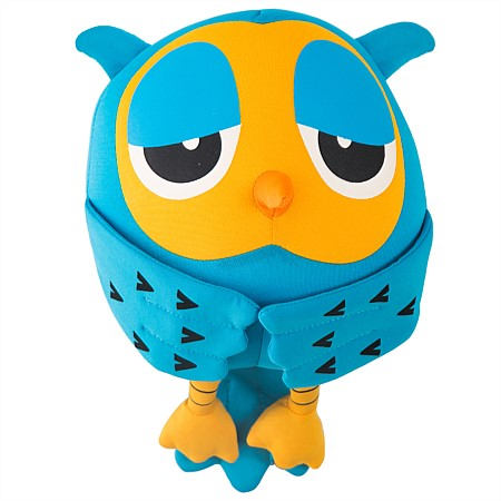 bb&b Kids Orange Owl Cushion
