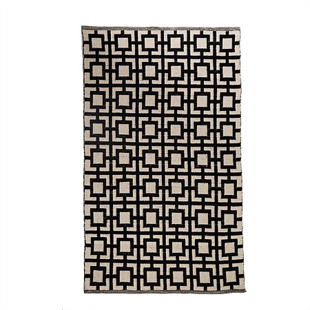 Solace Zoey Boarder Cotton Rug
