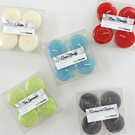 Votive Candles 4pc