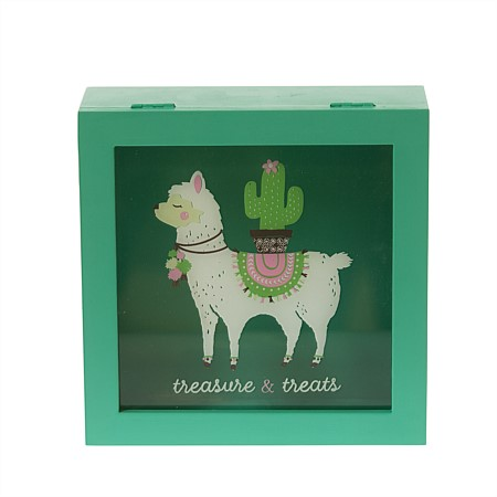 Niko & Co. Llama Treasure and Treats Box