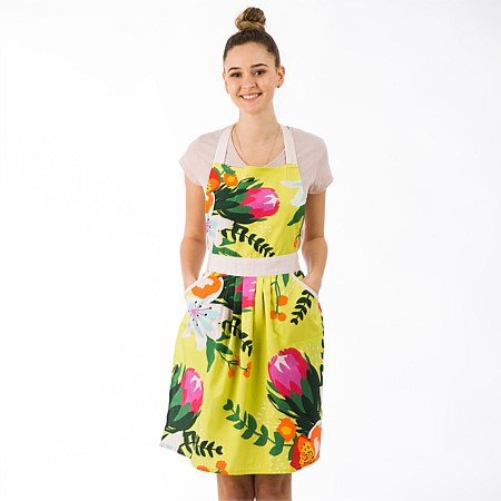 Gather Home Co Amalia Floral Apron