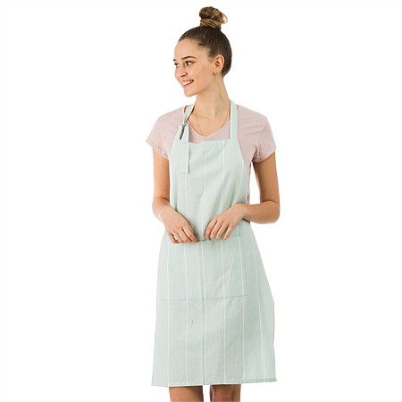 Gather Home Co Amalia Duckegg Stripe Apron