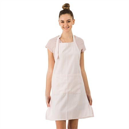 Gather Home Co Amalia Blush Stripe Apron