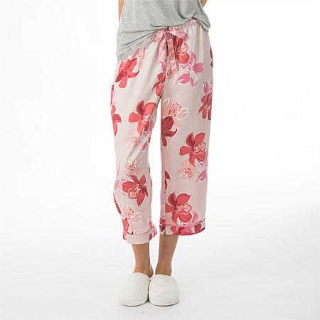 BBB Sleep Orchid Satin Capri PJ Pants