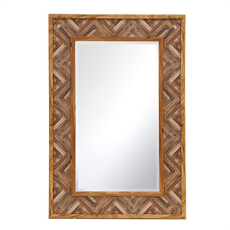 Home Co. Solid Wood Mirror