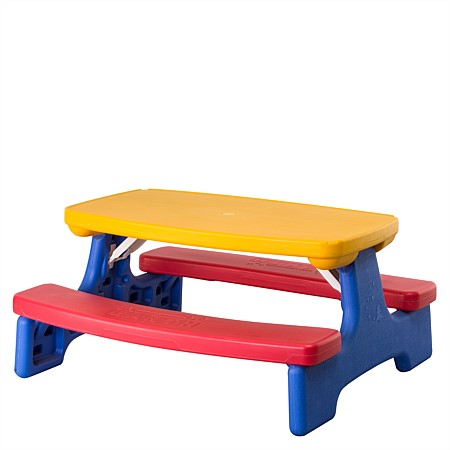 Seaside Supplies Kids Outdoor Table & Bench Set