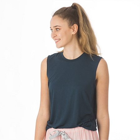 BBB Sleep Navy Comfy Tank Top