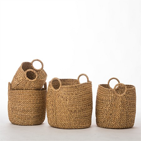 Design Republique Kaikora Baskets with Handles