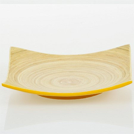 Home Co. Bamboo Square Serving Plater