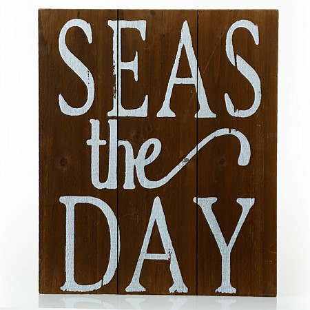 Solace Seas The Day Wooden Wall Art