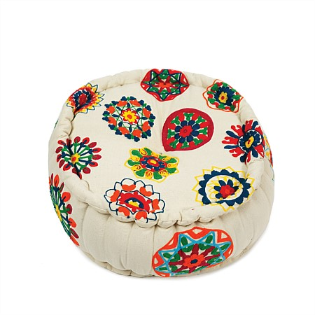 Design Republique Casablanca Round Bright Pouf