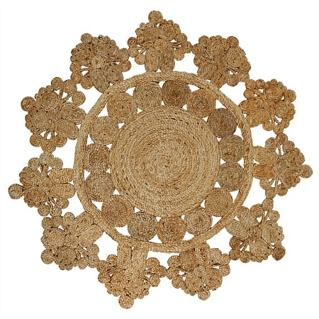 Design Republique Casablanca Round Jute Rug