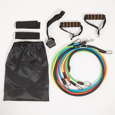 Home Co. Resistance Band Set With Carry Bag