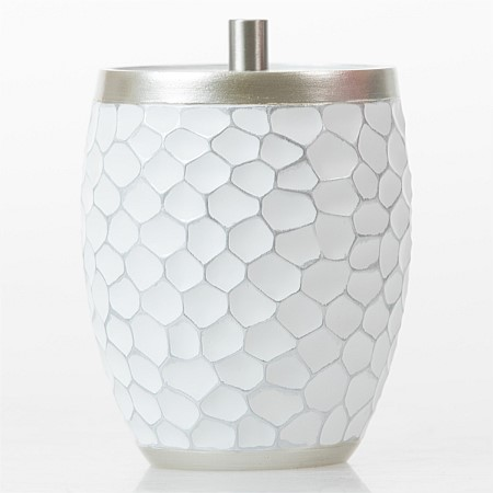 Home Co. Darius Polyresin Cotton Jar