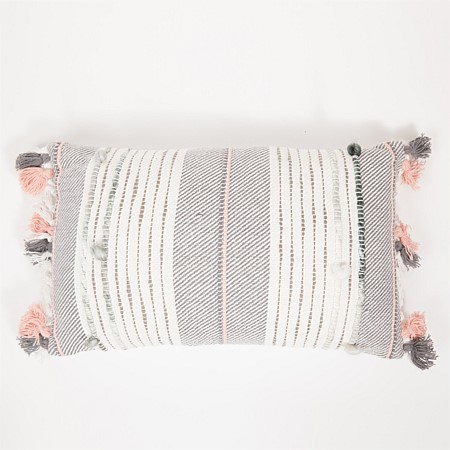 Design Republique Valencia Blush Long Cushion