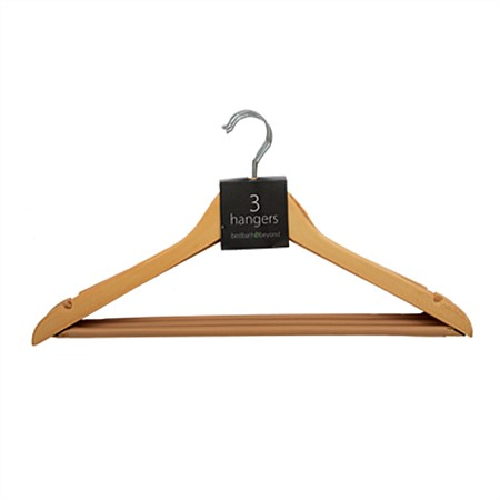 Everyday 3pk Wooden Hanger