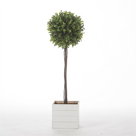 Everlasting Eucalyptus Ball Topiary