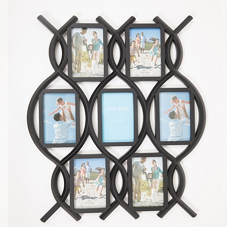 Home Chic Black Mixed Oval Frame