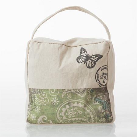 Flourish Chicadee Butterfly Door Stop