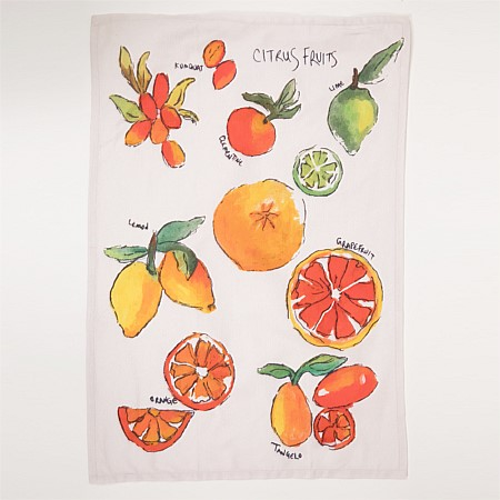 Gather Home co. Citrus Fruits Tea Towel