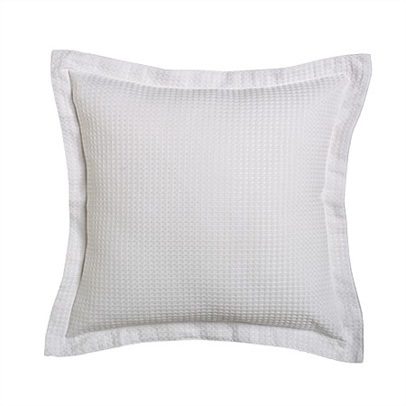 Logan & Mason Ascot White Square Filled Cushion