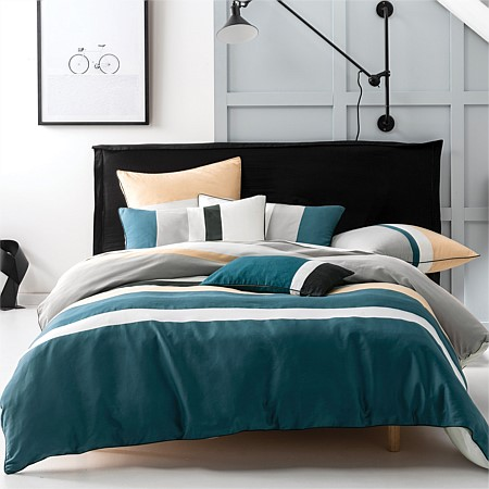 A La Mode Ronan Duvet Cover Set & Breakfast Cushion