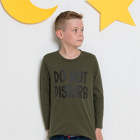 bb&b Kids Do Not Disturb PJ Tee