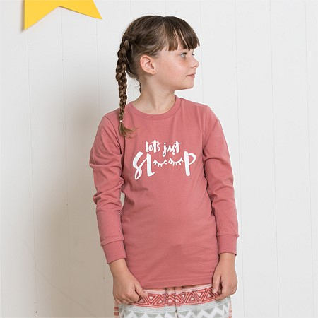 bb&b Kids Lets Just Sleep PJ Tee