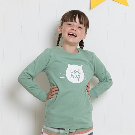 bb&b Kids Cat Nap PJ Tee