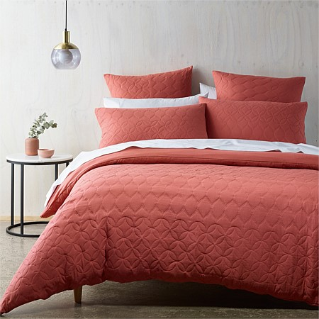 Phase 2 Clay Vista Stone Washed Duvet Cover Set